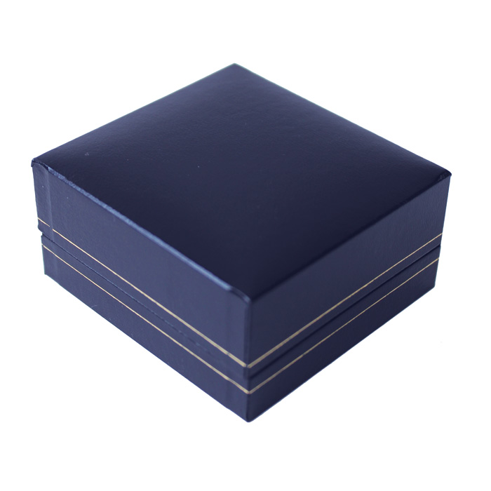 Jewellery Display Box Blue Sparkle Gift