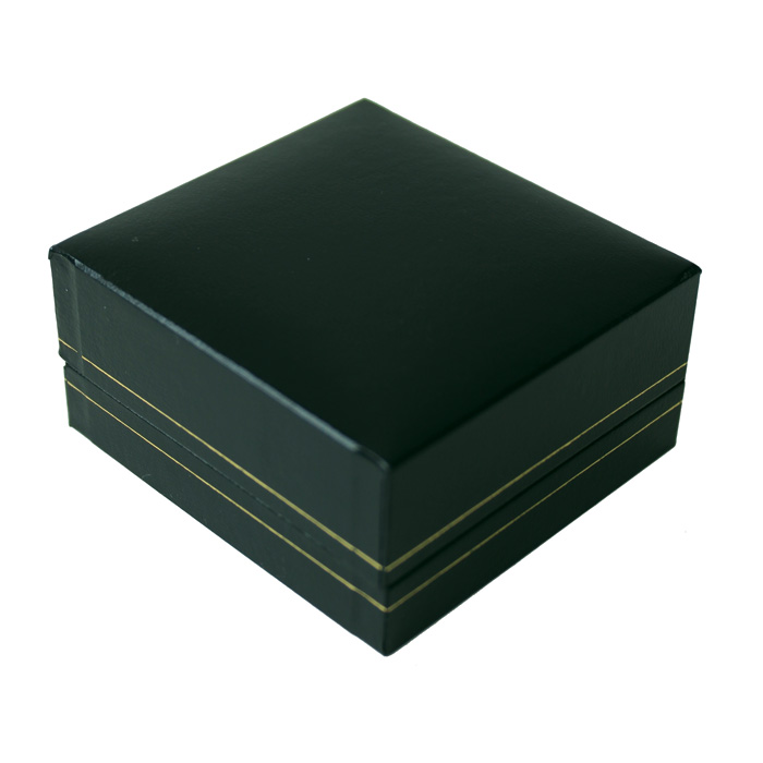 Jewellery Display Box Green Sparkle Gift