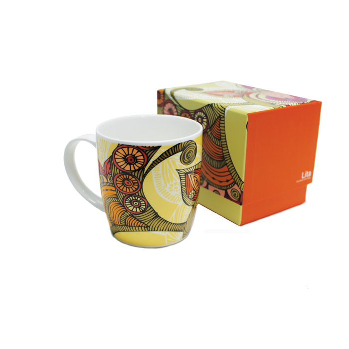 Bone China Boxed Mug Valentina Lita Sparkle Gift