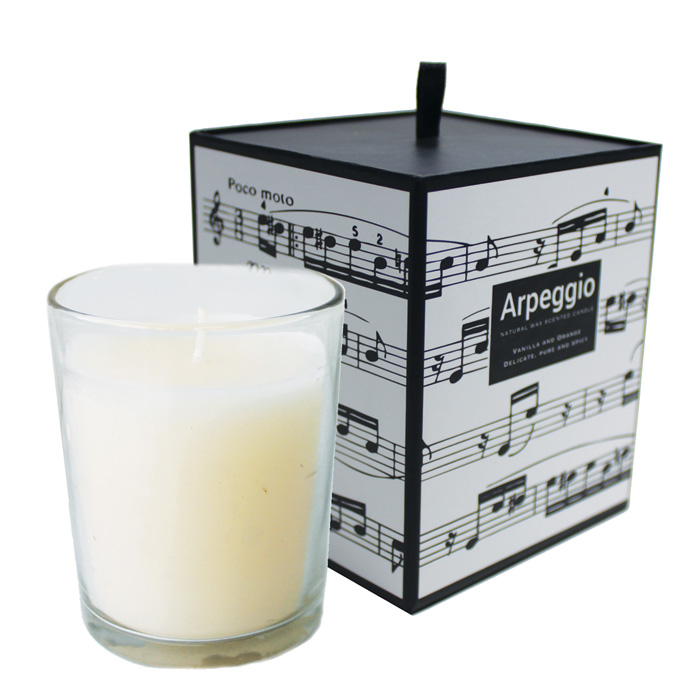 Scented Candle Arpeggio Vanilla & Orange Sparkle Gift