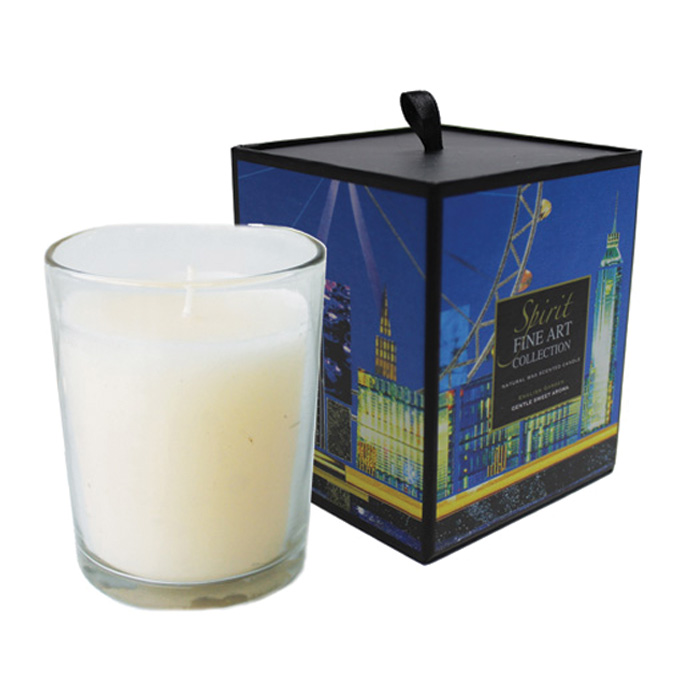 Scented Candle Cities London English Garden Sparkle Gift