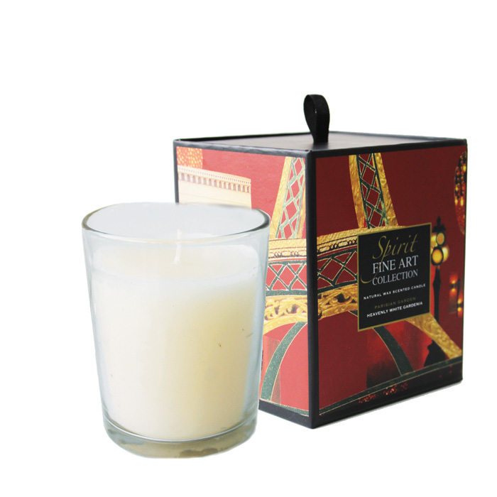 Scented Candle Cities Paris Parisienne Garden Sparkle Gift