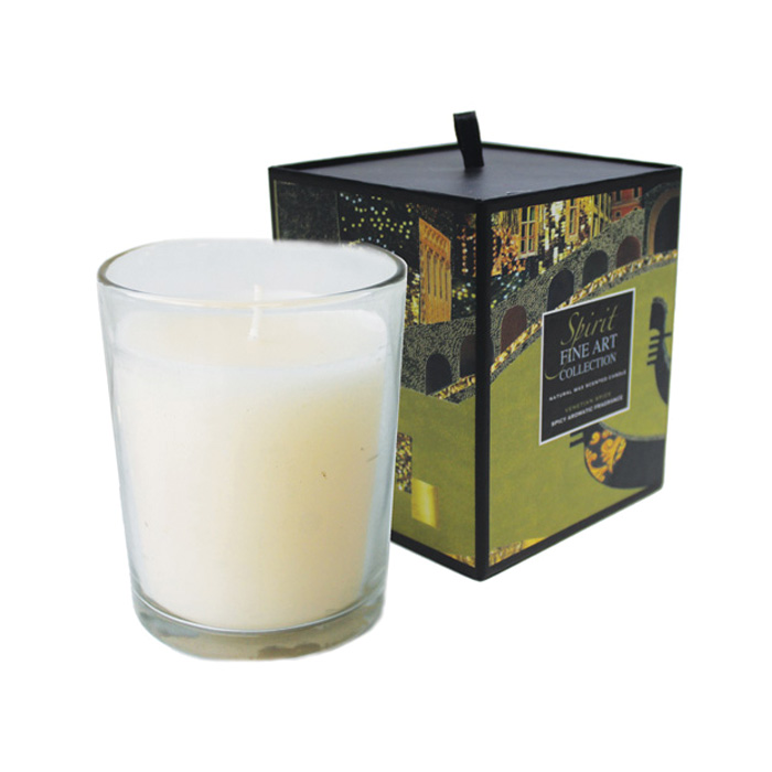 Scented Candle Cities Venice Venetian Spice Sparkle Gift