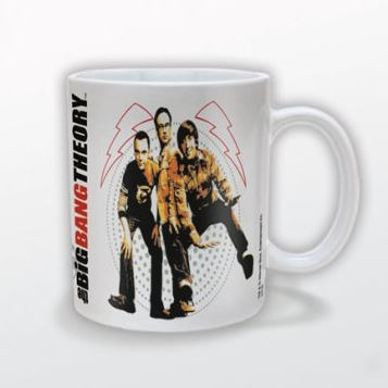 Big Bang Theory Mug Fisheye Sparkle Gift