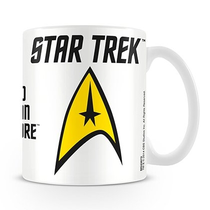 Star Trek Boxed Mug To Boldly Go Sparkle Gift