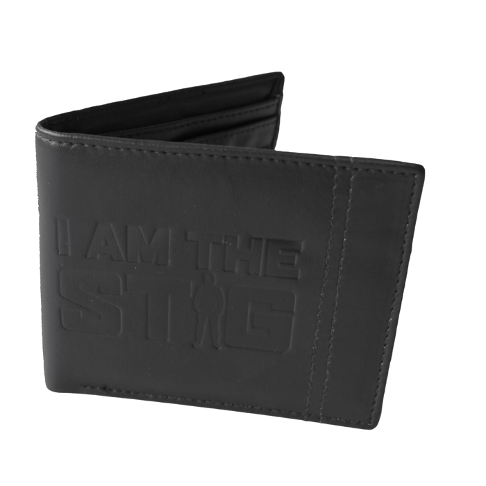 Top Gear Wallet I Am The Stig  Black Sparkle Gift