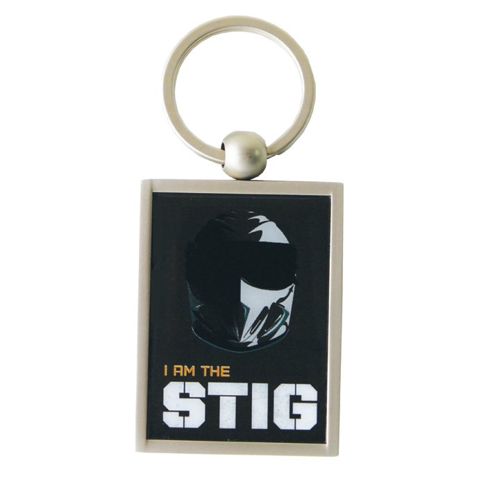 Top Gear Keyring I Am The Stig Sparkle Gift