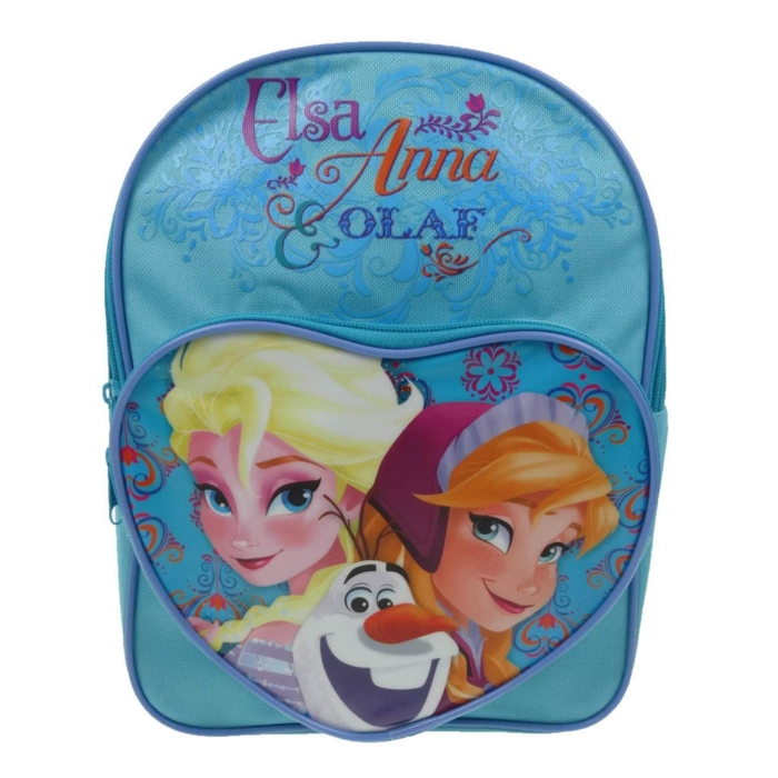 Frozen Heart Pocket Backpack Nordic Sparkle Gift