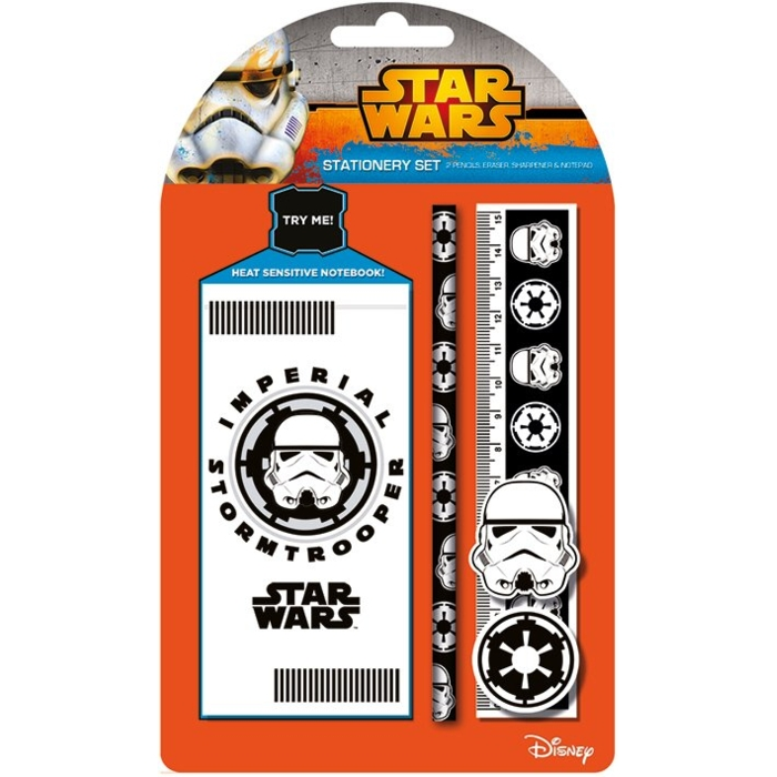 Star Wars Stationery Set Stormtrooper Sparkle Gift