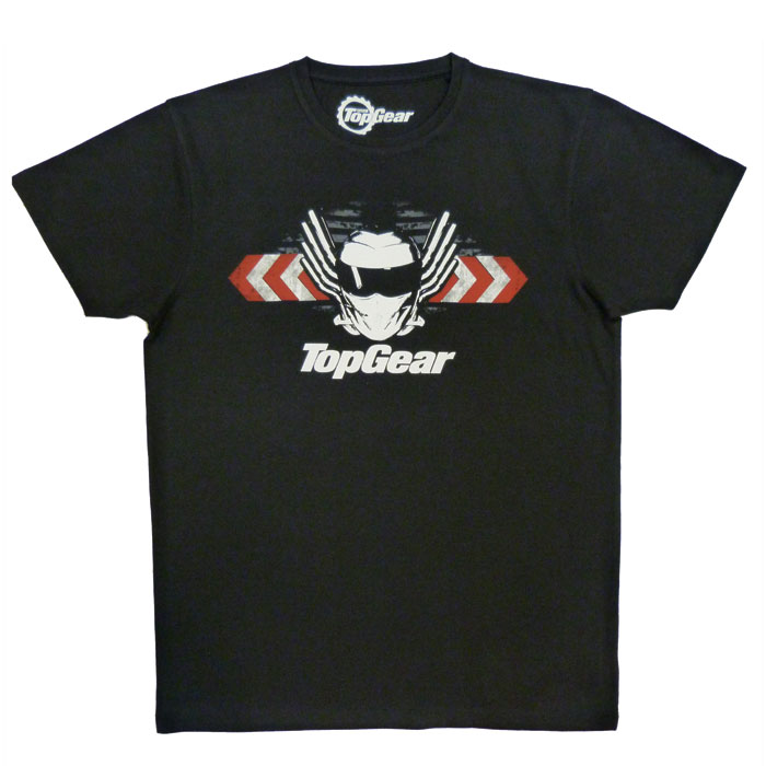 Top Gear T Shirt Wings  Black Small Sparkle Gift