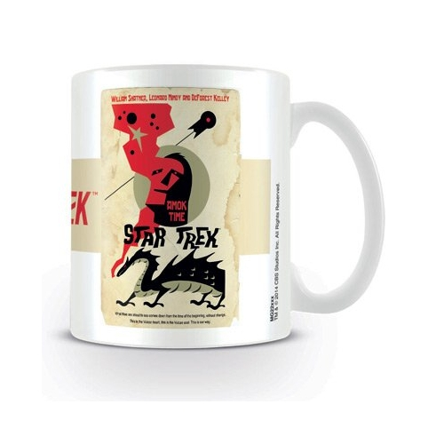 Star Trek Boxed Mug Amok Time Sparkle Gift