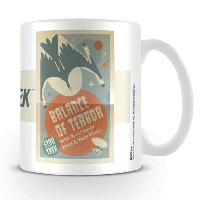 Star Trek Boxed Mug Balance of Terror Sparkle Gift