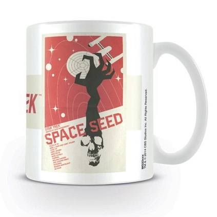 Star Trek Boxed Mug Space Seed Sparkle Gift
