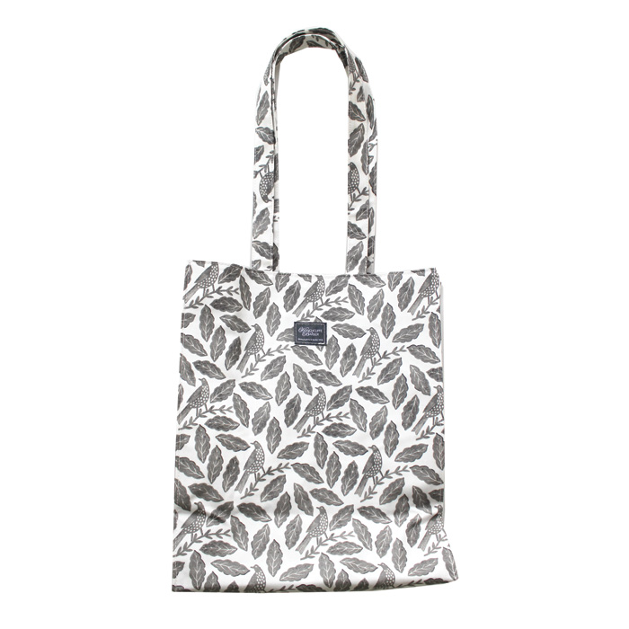 Songbird Grey Shopping Bag Medium Sparkle Gift