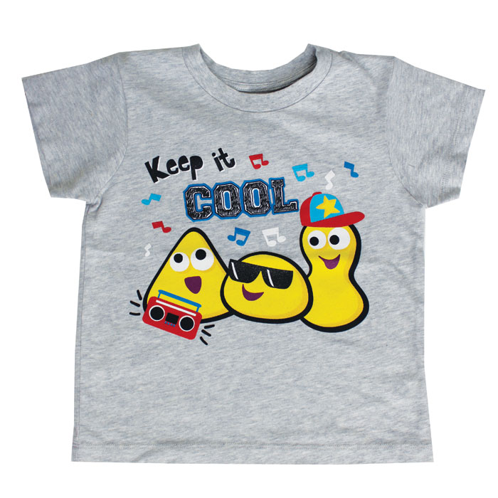 Cbeebies Keep It Cool T Shirt 4-5 Years Sparkle Gift