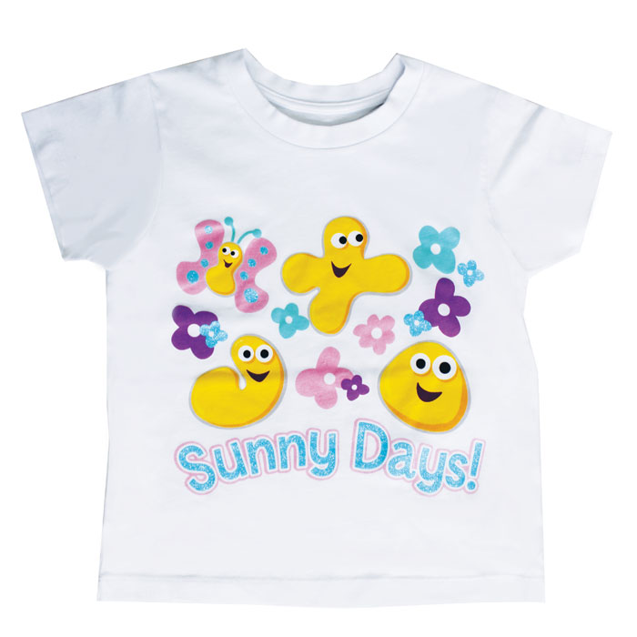 Cbeebies Sunny Days T Shirt 5-6 Years Sparkle Gift