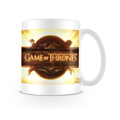 Game of Thrones Boxed Mug Opening Logo Sparkle Gift