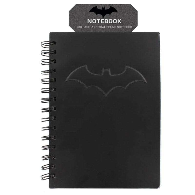 Batman Notebook Embossed Sparkle Gift