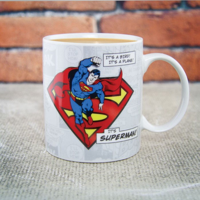 Superman Boxed Mug Its Superman Sparkle Gift