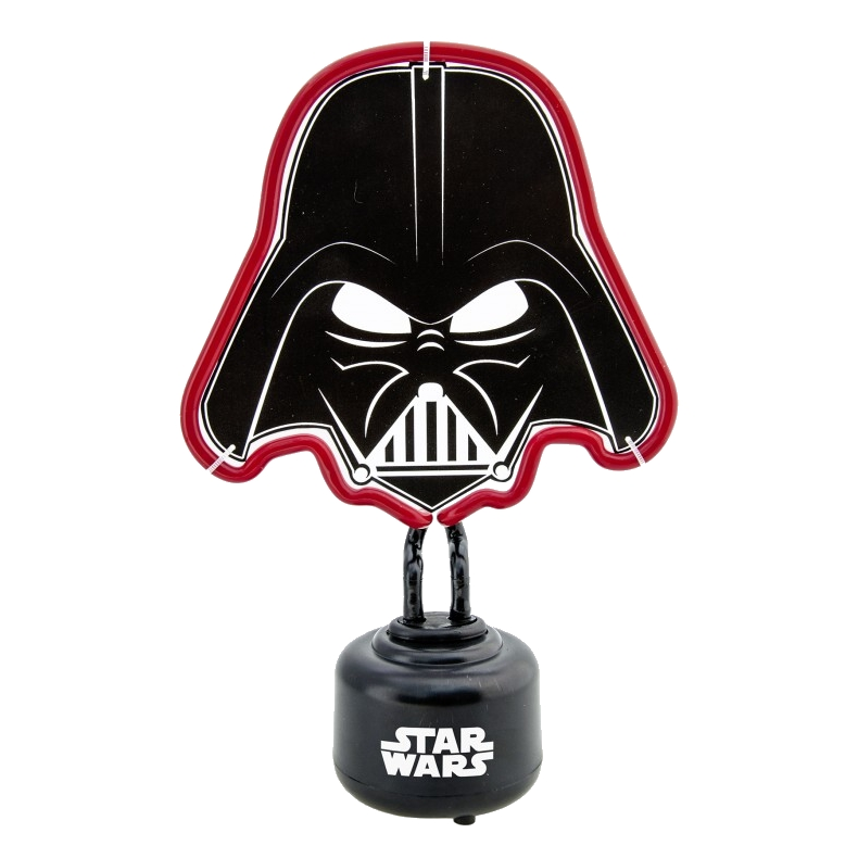 Star Wars Mini Neon Light Darth Vader Sparkle Gift