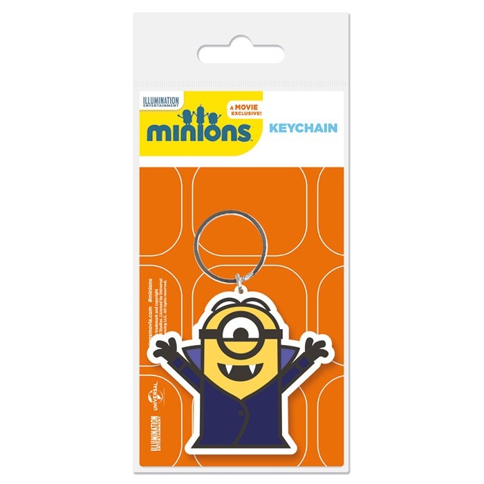 Minions Keyring Vampire Sparkle Gift