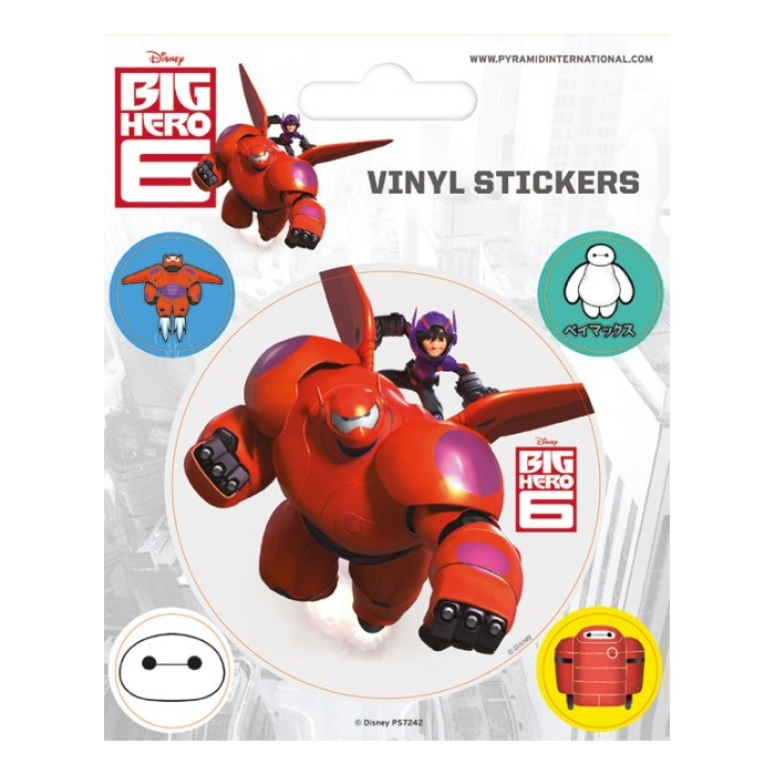 Big Hero 6 Stickers Baymax Sparkle Gift