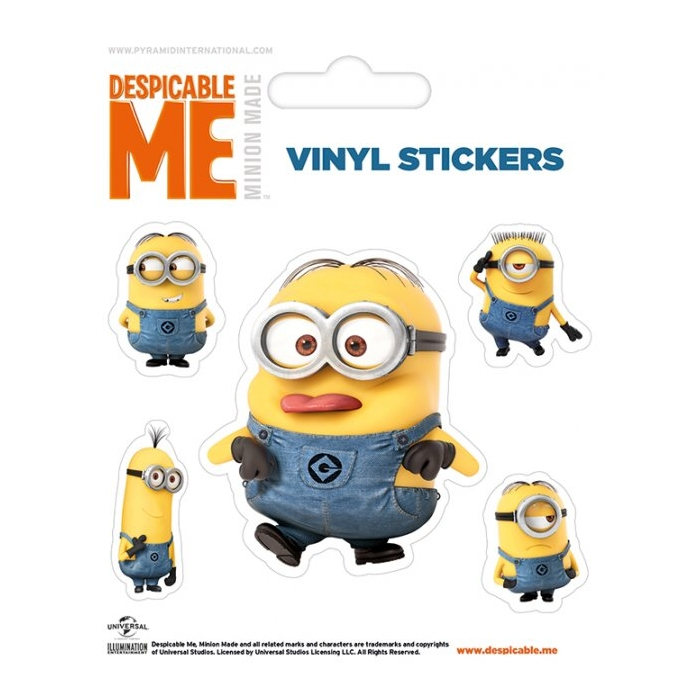 Minions Stickers Rendered Minion Sparkle Gift