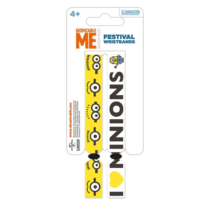 Despicable Me Festival Wristbands                          Sparkle Gift