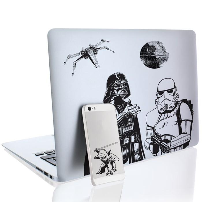 Star Wars Gadget Decals Classic Trilogy Sparkle Gift