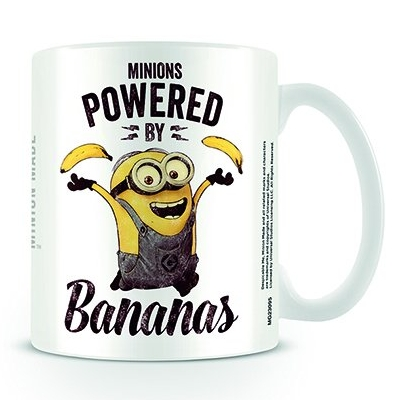 Despicable Me Boxed Mug Powered By Bananas Sparkle Gift