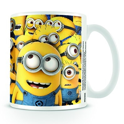 Despicable Me Boxed Mug Many Minions Sparkle Gift