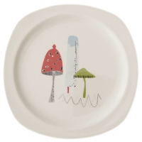 Sarah Heaton Accent Toadstool Side Plate Pack 6 Sparkle Gift