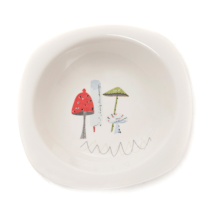 Sarah Heaton Accent Toadstool Serving Bowl Pack 2 Sparkle Gift