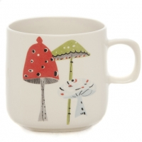 Sarah Heaton Accent Toadstool Mug Pack 6 Sparkle Gift