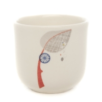 Sarah Heaton Accent Leaf Egg Cup Pack 6 Sparkle Gift