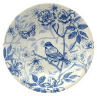 Blue Bird Toile Cereal Bowl Edward Challinor Pk 6 Sparkle Gift
