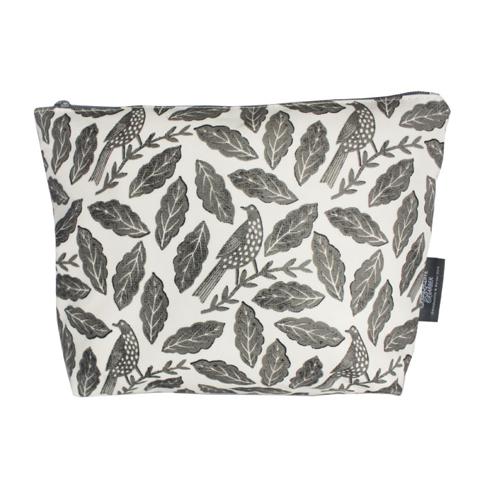 Songbird Grey Wash Bag Sparkle Gift