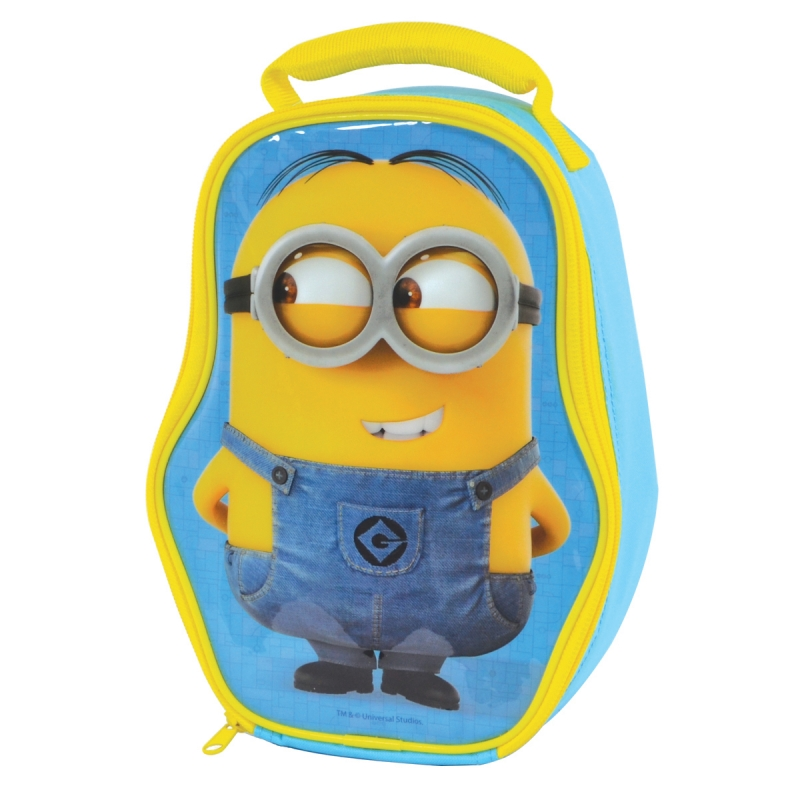 Minions Lunchbag Minion Shaped Sparkle Gift