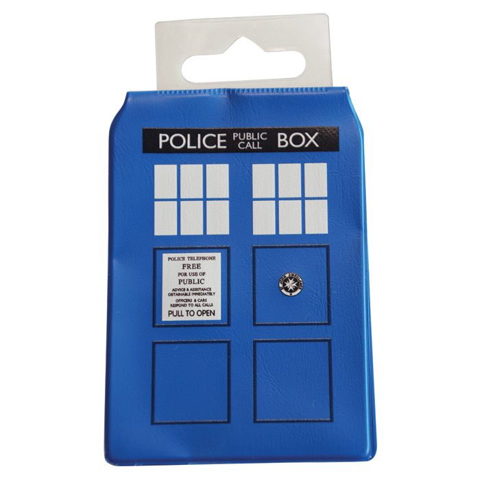 Doctor Who Travelcard Holder Tardis                          Sparkle Gift