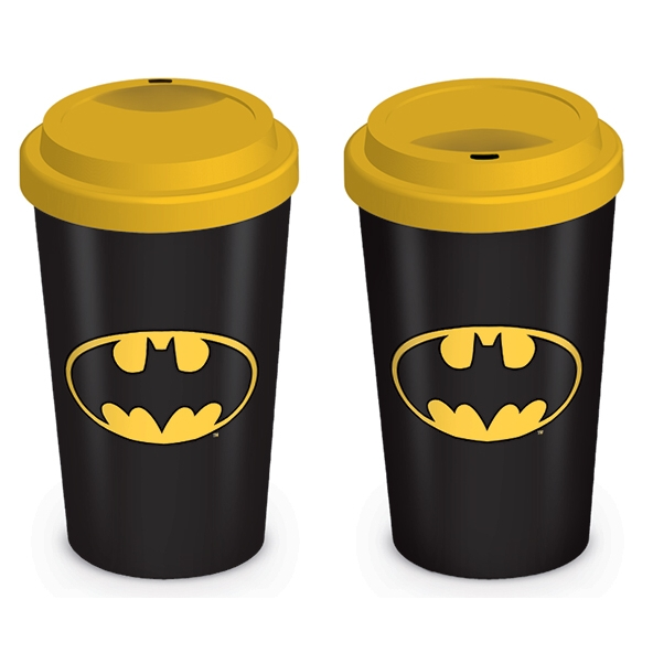 Batman Travel Mug Logo Sparkle Gift