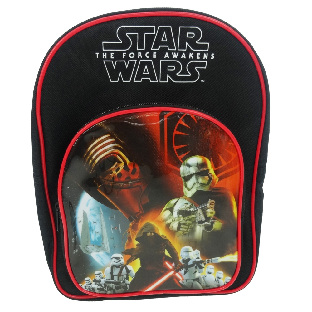 Star Wars Arch Backpack The Force Awakens Rule Sparkle Gift