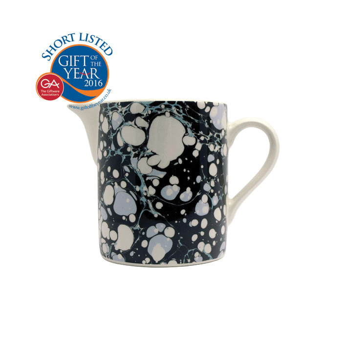 Bookbinder Cream Jug Black Pack 6 Sparkle Gift