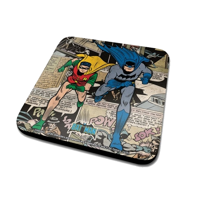 Batman Coaster Batman Montage Sparkle Gift