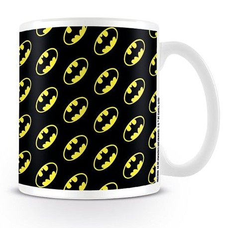 Batman Boxed Mug Logo Pattern Sparkle Gift