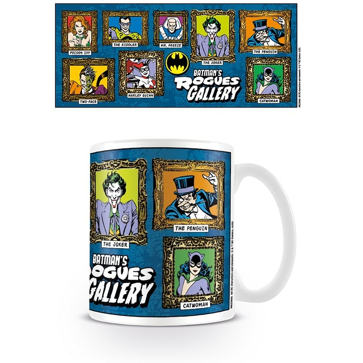 Batman Boxed Mug Rogues Gallery Sparkle Gift