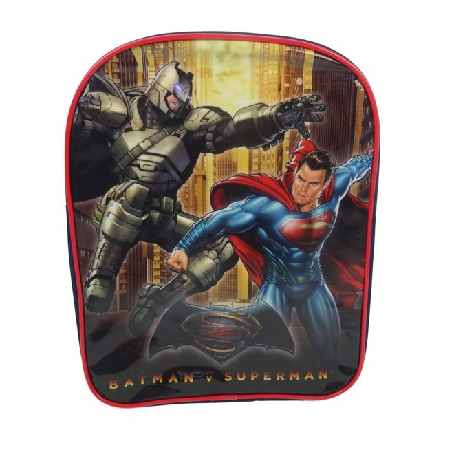 Batman V Superman Value Backpack Junior Justice Sparkle Gift