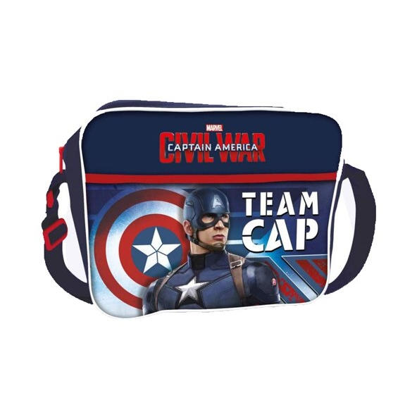 Marvel Courier Bag Captain America Civil War Sparkle Gift