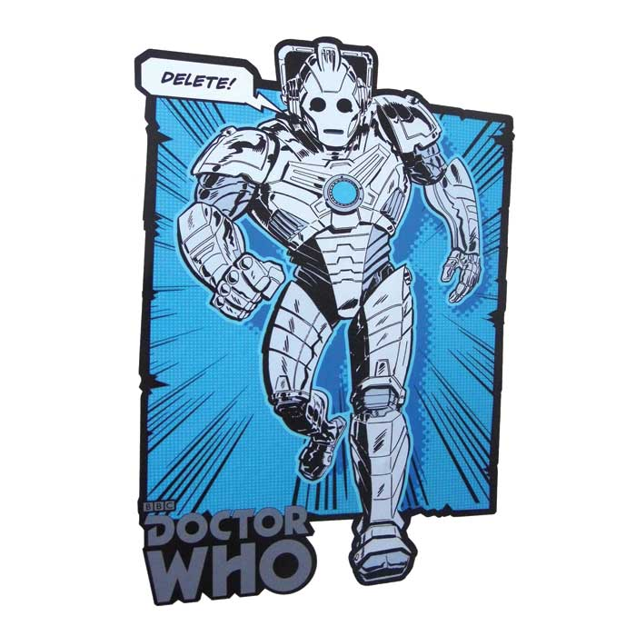 Doctor Who 2 Comic Strip Wall Sticker 6622 Pk 6 Sparkle Gift