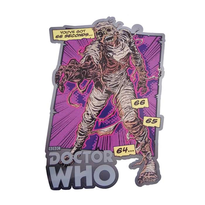 Doctor Who Comic Strip Wall Sticker 6623 Pk 6 Sparkle Gift