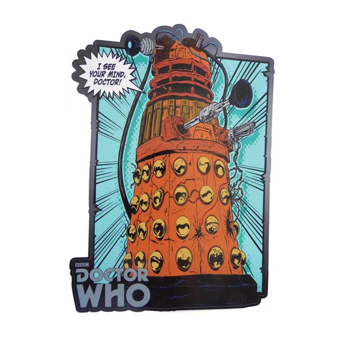 Doctor Who 2 Comic Strip Wall Sticker Panel 5 6629 Sparkle Gift